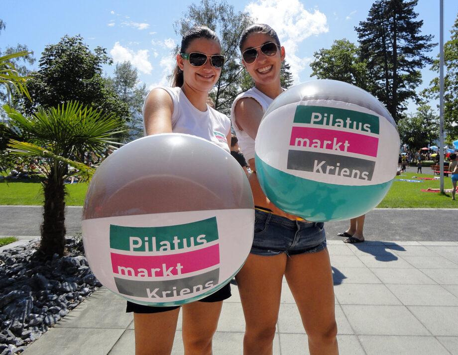 Referenzen Promotion Rocket Pilatus Markt