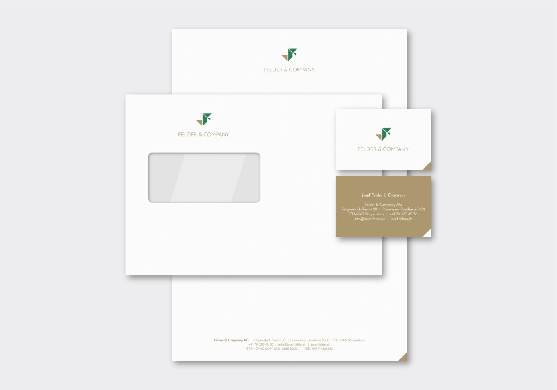 Referenz Branding CD Felder & Company