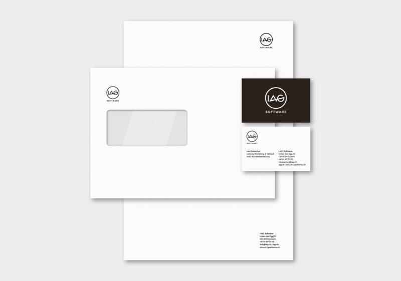 Referenz Branding CD IAG