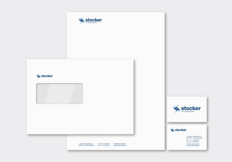 Referenz Branding CD Stocker Fensterbau