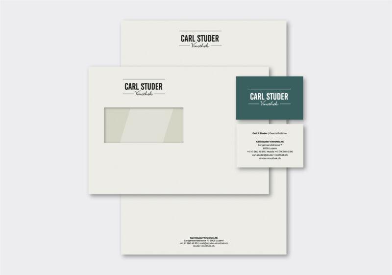 Referenz Branding CD Carl Studer