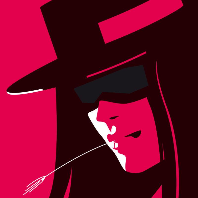 Referenzen Illustration Rocket Zorro