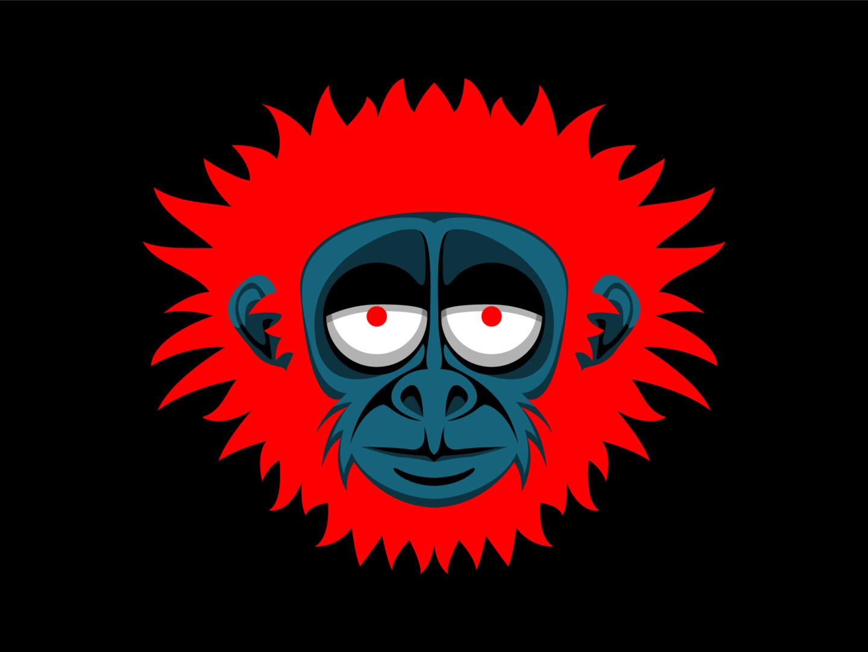 Referenz Illustration Monkey
