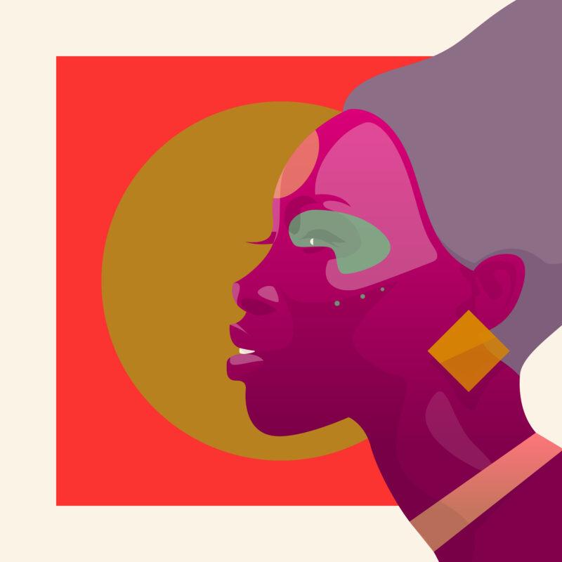 Referenz Illustration Rocket Africa