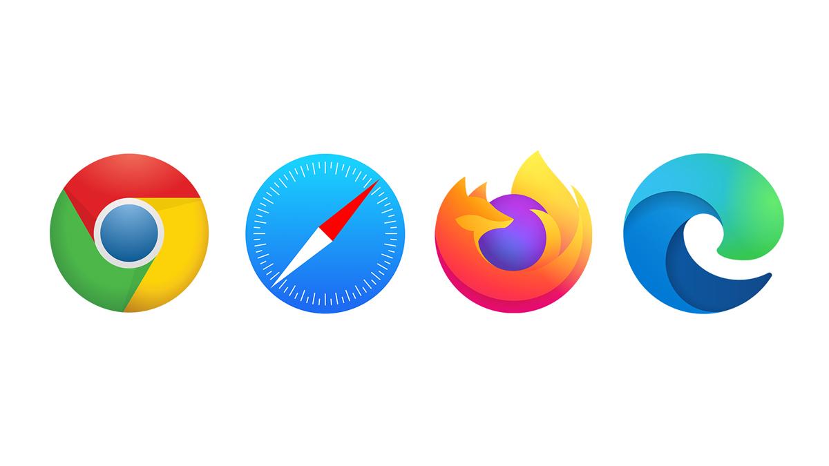 Blogbeitrag Web Browsersymbole